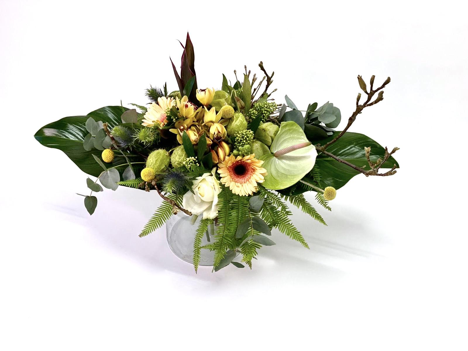 Natural Natuurlijk Bloemen Boeket